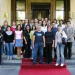 Общее фото участников конференции - представителей стран Восточной Европы.